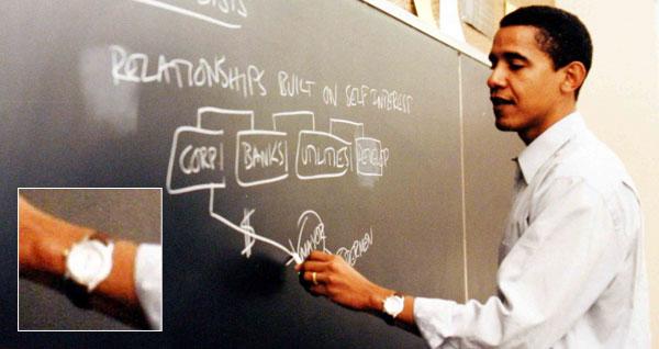 Barack Obama's TAG Heuer Series 1500