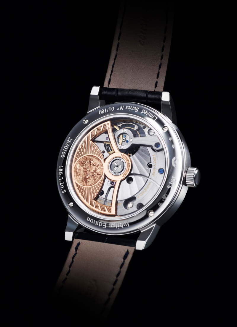 Jjaeger Lecoultre Master Grande Tradition Cylindrique A Quantieme Perpetuel Jubilee Case Back