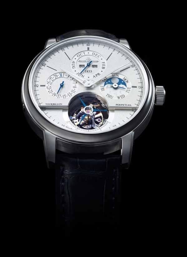 One Of The Interesting Pieces From This Range Is Jaeger Lecoultre Master Grande Tradition Tourbillon Cylindrique à Quantième Perpétuel Jubilee