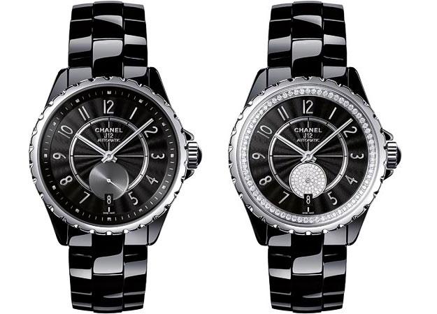 089944eddbca Chanel J12-356 black ceramics stainless steel