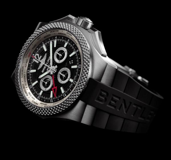 Breitling Bentley Gmt Wristwatches: Breitling Bentley GMT Light Body B04