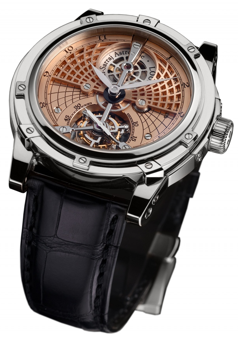 Louis moinet astrolabe tourbillon luxois for Louis moinet watch
