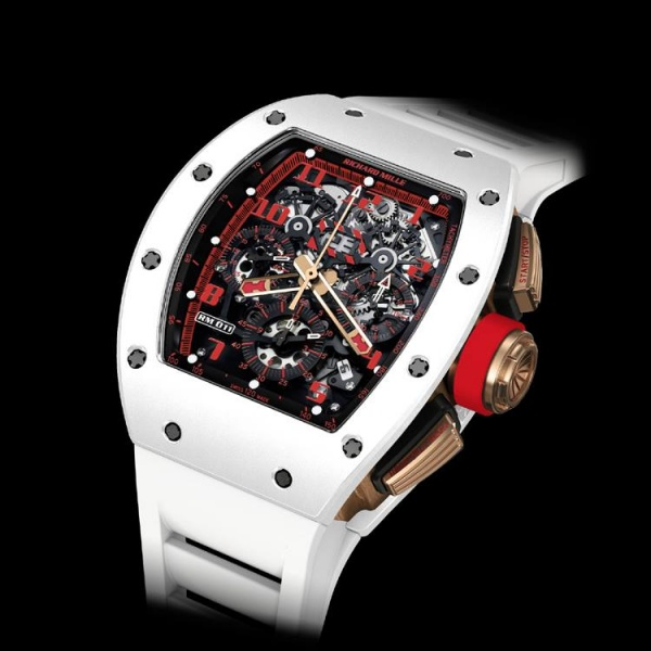 5390626d3fd Richard Mille RM 011 White Demon Automatic Flyback Chronograph - Luxois