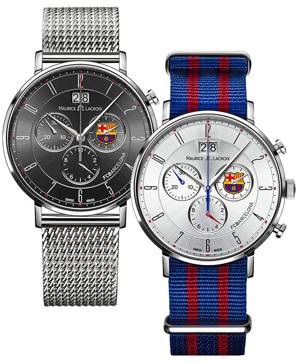 Maurice Lacroix the FC Barcelona Collection