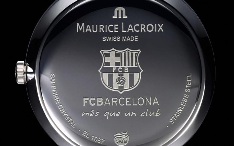 Maurice Lacroix FC Barcelona case-back