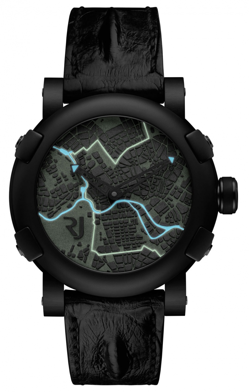 Romain Jerome the Berlin-DNA by night