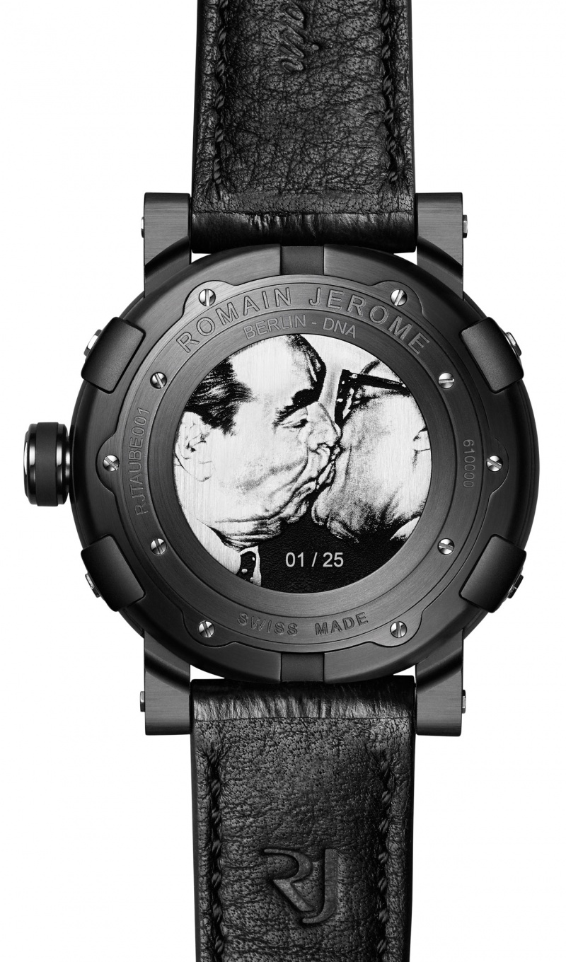 Romain Jerome the Berlin-DNA case-back The Brother Kiss