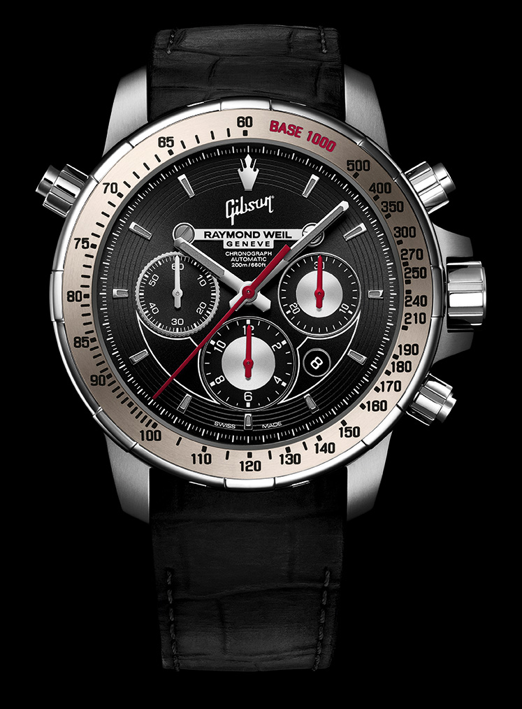 Raymond Weil Nabucco Inspired By Gibson Luxois
