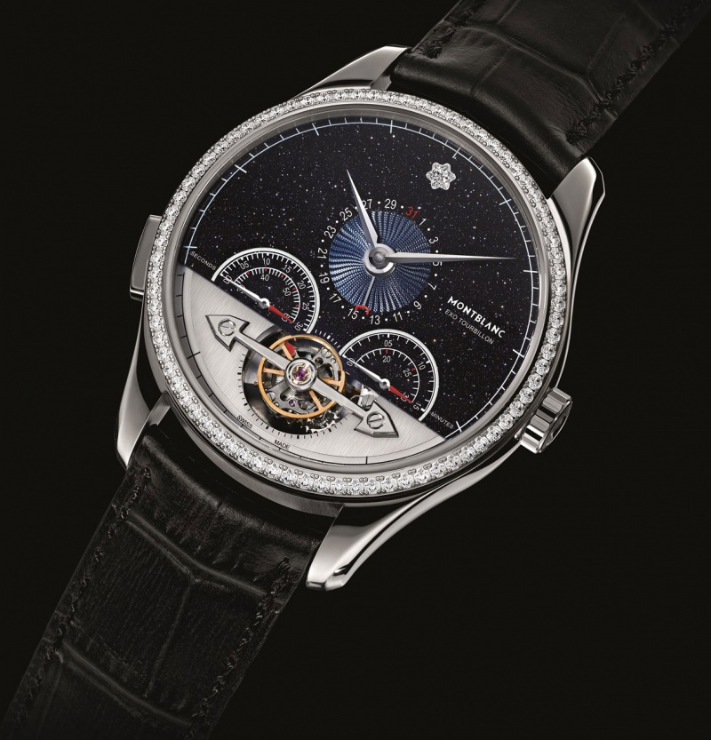 ebc001af5ae8f Montblanc ExoTourbillon Minute Chronograph Vasco da Gama Diamonds ...