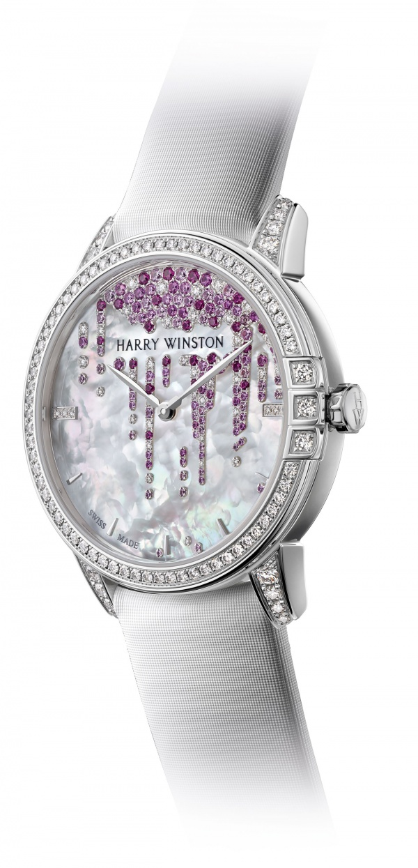 Harry Winston Midnight Stalactites Automatic For Valentine S Day 2018