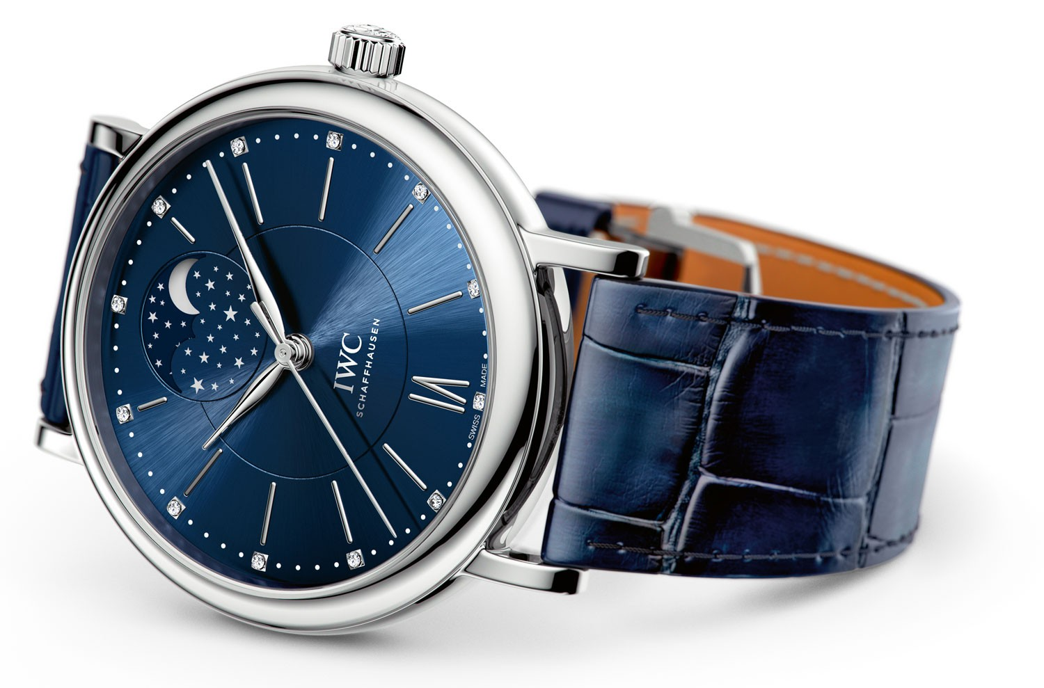 """IWC Portofino Automatic Moon Phase 37 Edition """"Laureus Sport for Good Foundation,"""" reference number IW459006"""