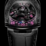 Urwerk UR-106 Black Pink Lotus