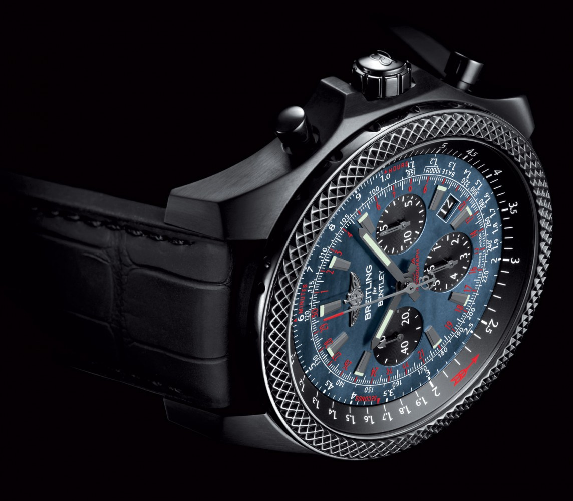 Breitling for Bentley B06 Midnight Carbon watch replica