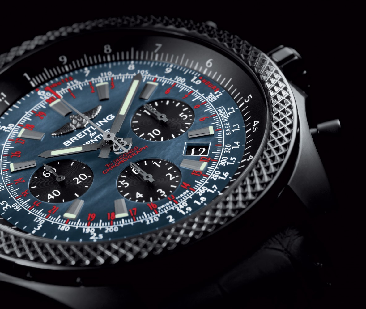 mens Breitling for Bentley B06 Midnight Carbon watch replica