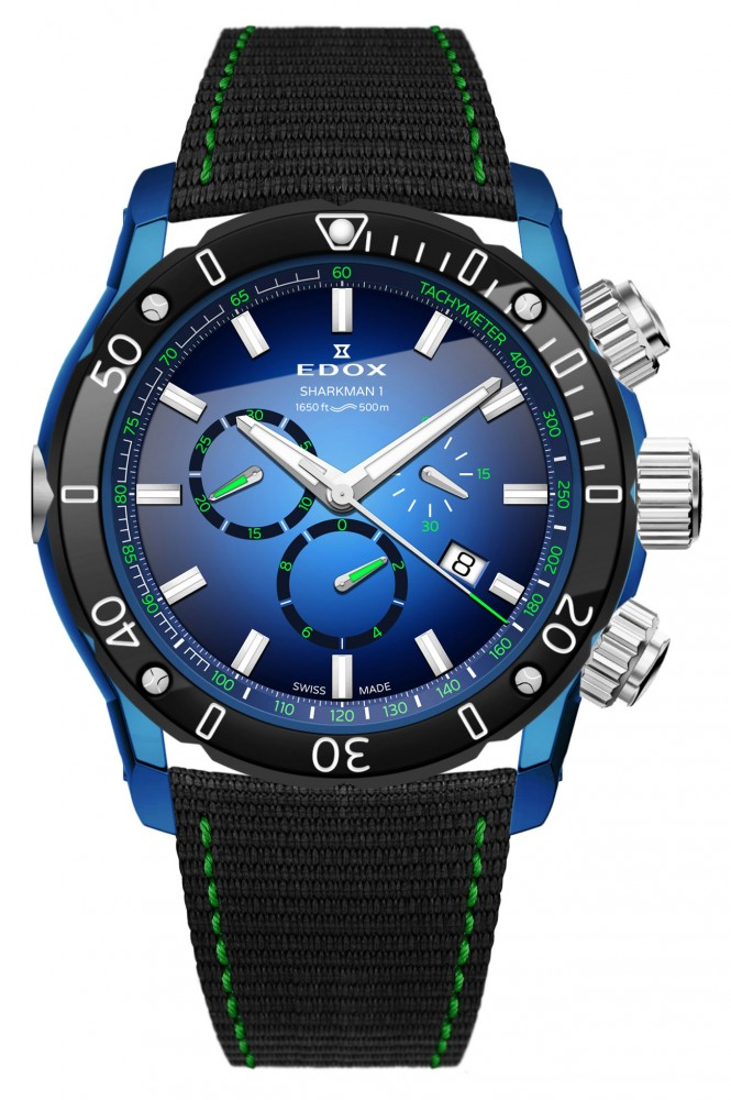 Edox SharkMan I Limited Edition - Luxois a305279834