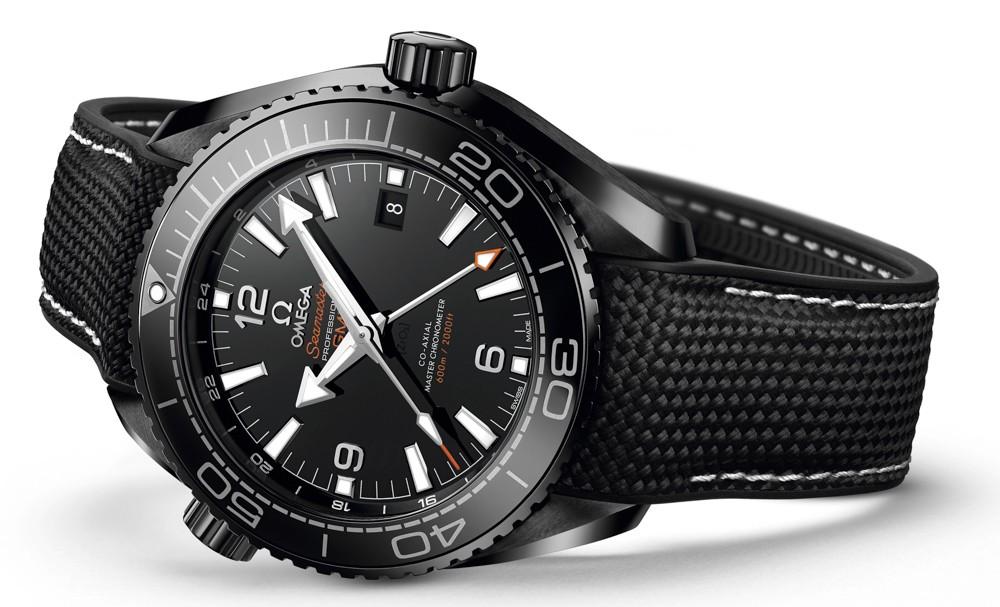 Omega Seamaster Planet Ocean Deep Black GMT