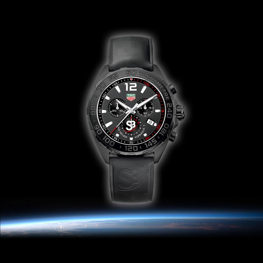 TAG Heuer Chronograph Formula 1 for S3 Zero Gravity Program