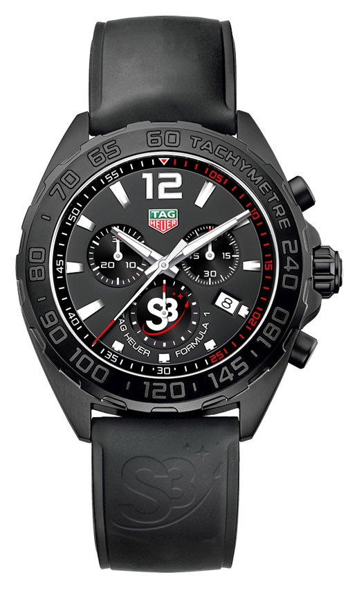 TAG Heuer Chronograph Formula 1 for the S3 Zero Gravity Program