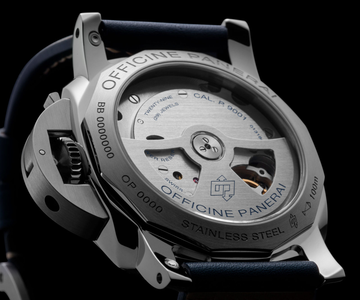 edition news panerai watches blue dial special luxois