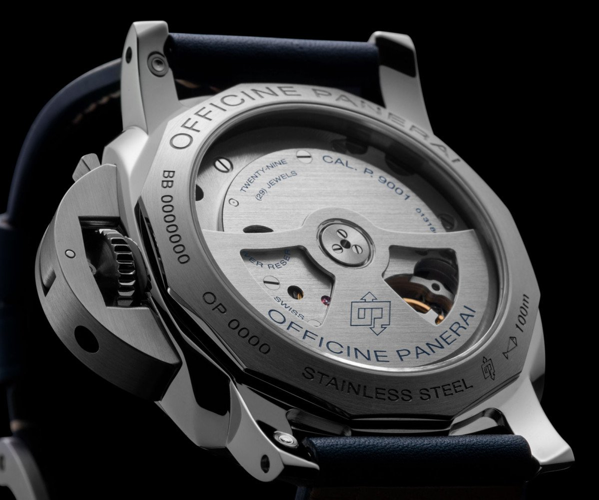 submersible strap black watch luminor essential on ceramic leather with watches panerai pam in dial main days