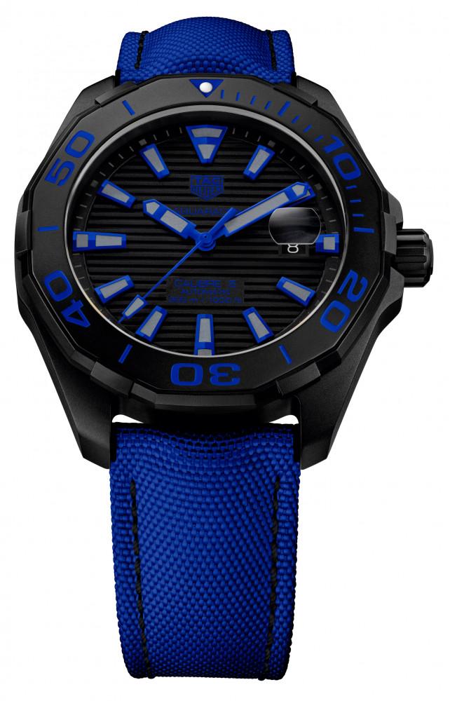 TAG Heuer Aquaracer Black Titanium Nylon Strap