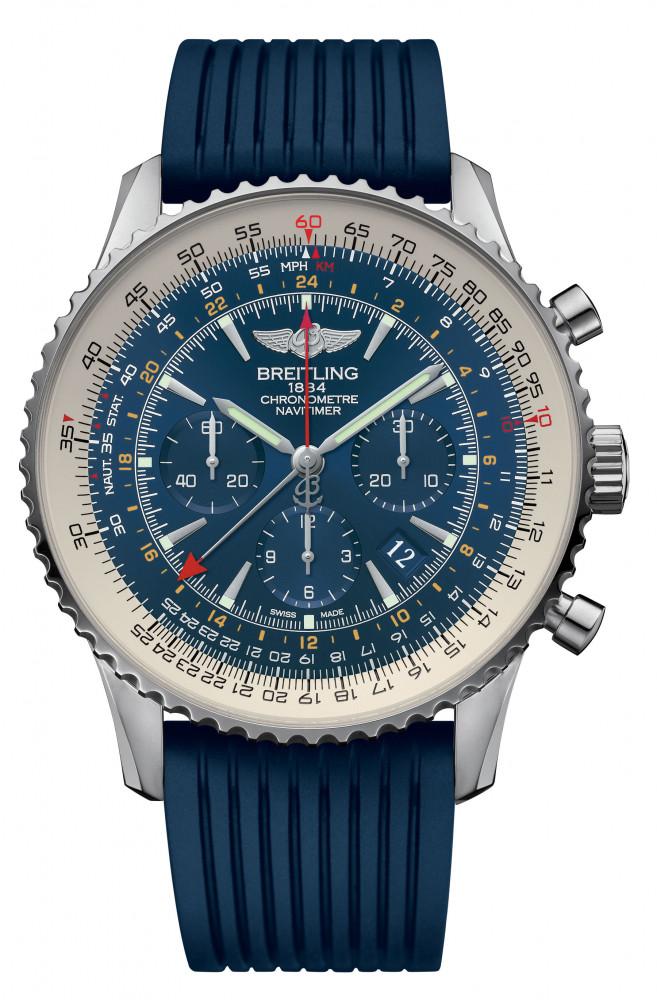 Breitling Navitimer Aurora Blue watch replica