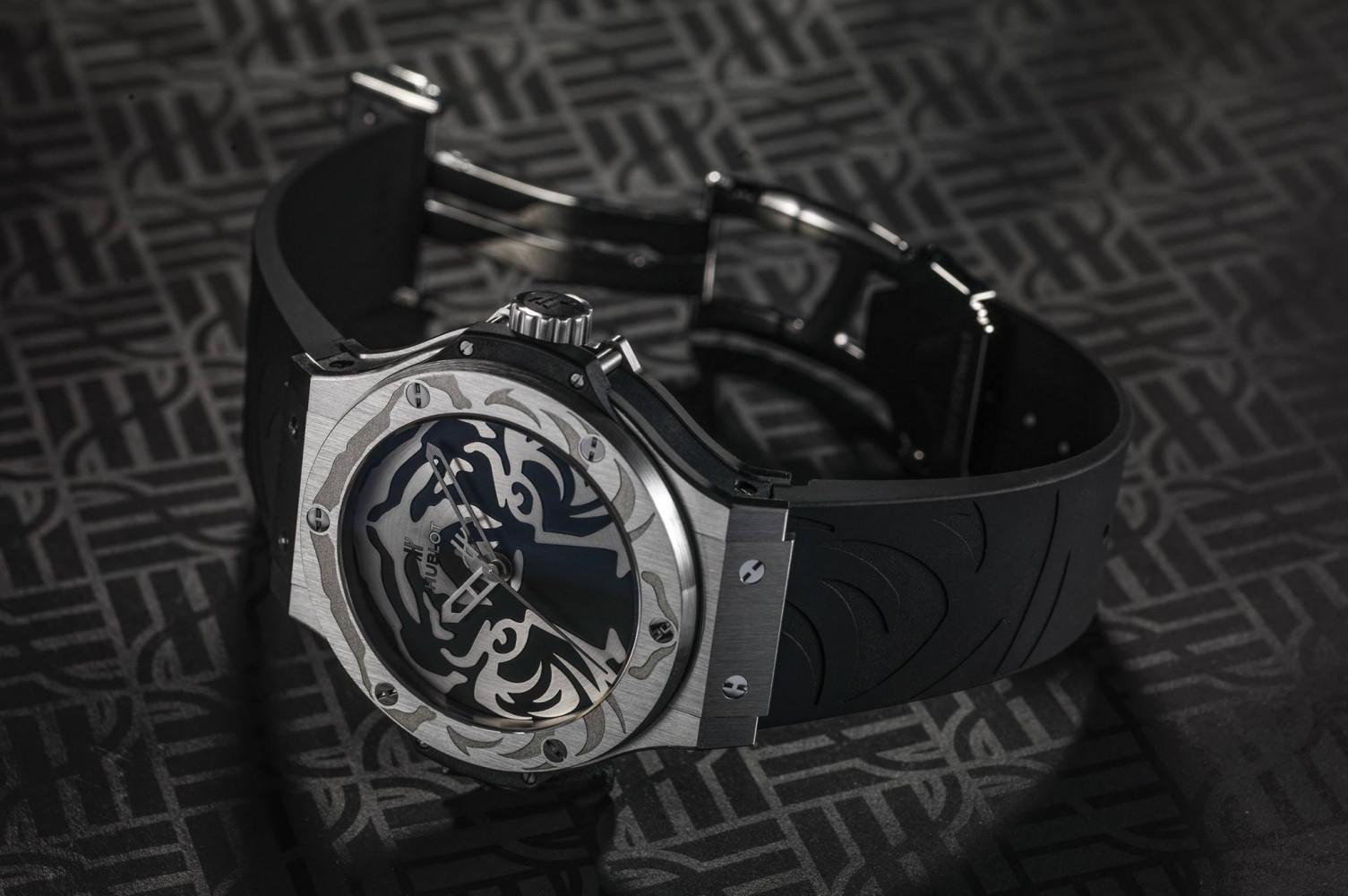 Hublot Big Bang Black Jaguar-White Tiger Foundation Special Edition