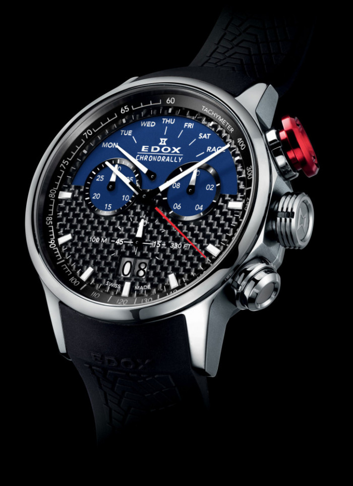 5fdf16b67 The innovative watchmaker EDOX introduces a new limited edition timepiece  to its Chronorally collection. This time, EDOX honors the famous Sauber F1  Team, ...