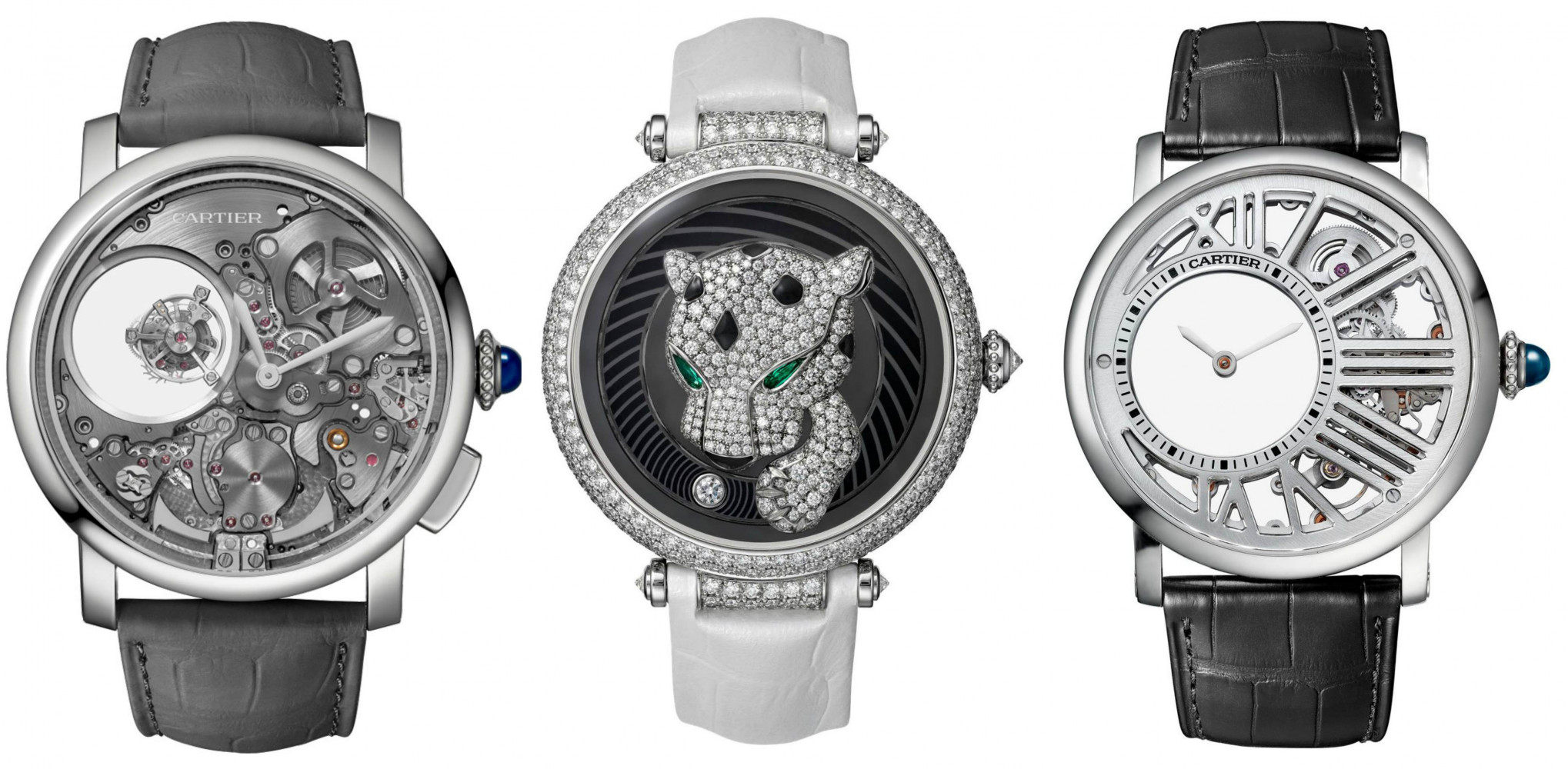 Cartier watches for SIHH 2017