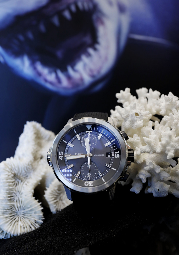 IWC presents Aquatimer Chronograph Edition