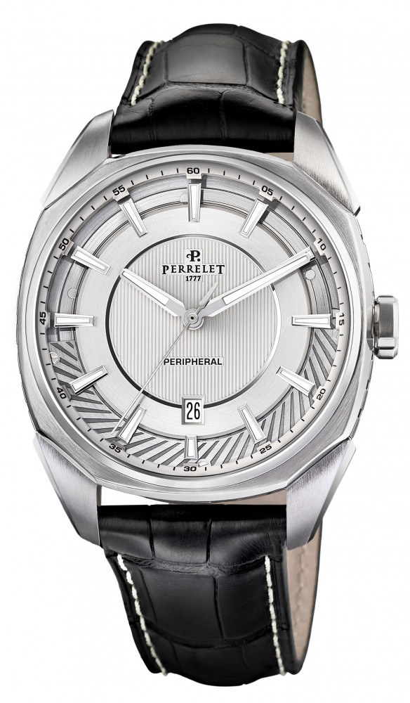 Perrelet the LAB silver dial A 110/1