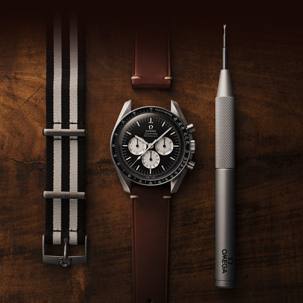 The Omega Speedmaster Speedy Tuesday Limited Edition