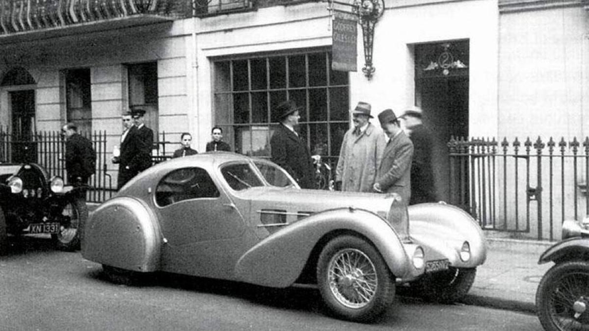Bugatti Aerolithe 1935