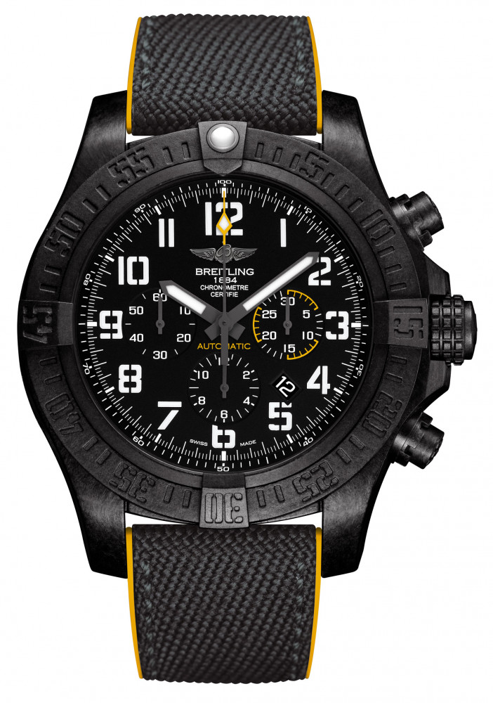 Breitling Avenger Hurricane 12H with a black dial