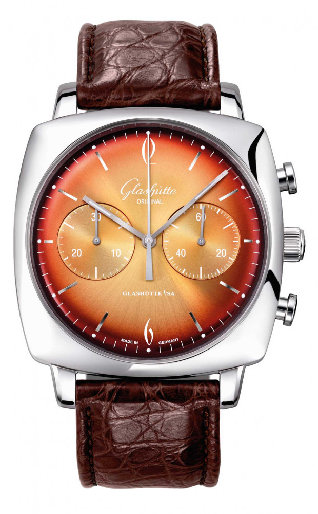 Glashutte Original Sixties Iconic Tangerine