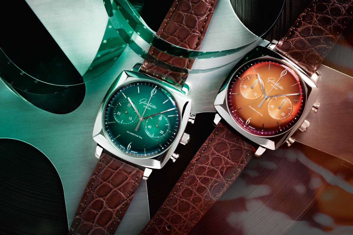 Glashutte Original The Original Sixties Iconic Square collection
