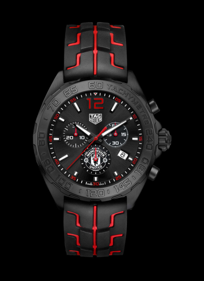 d0f4ec08f95 ... TAG Heuer, have unveiled their first official club special-edition  watches. TAG Heuer has presented a bespoke design of its popular Formula One  ...