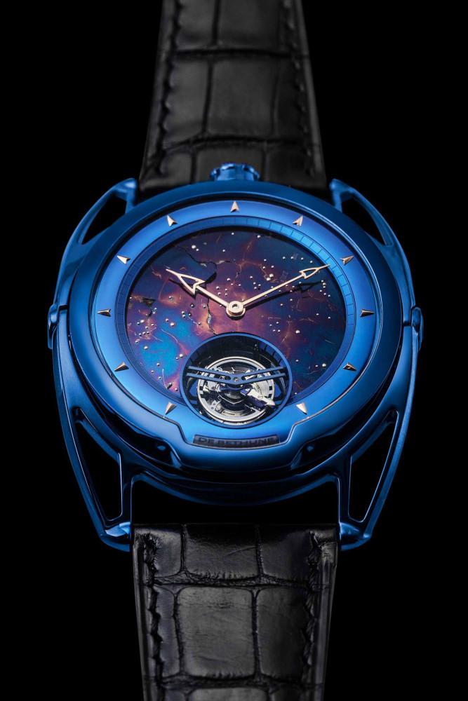 De Bethune DB28 Kind of Blue Tourbillon Meteorite