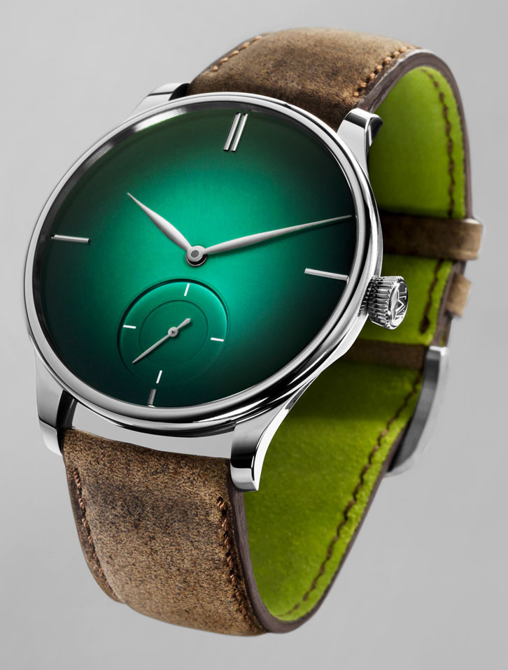 H. Moser & Cie. The Venturer Small Seconds XL Purity Cosmic Green