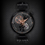Kerbedanz Squama Tourbillon Black
