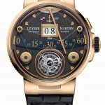 Ulysse Nardin Marine Grand Deck Tourbillon in Rose Gold