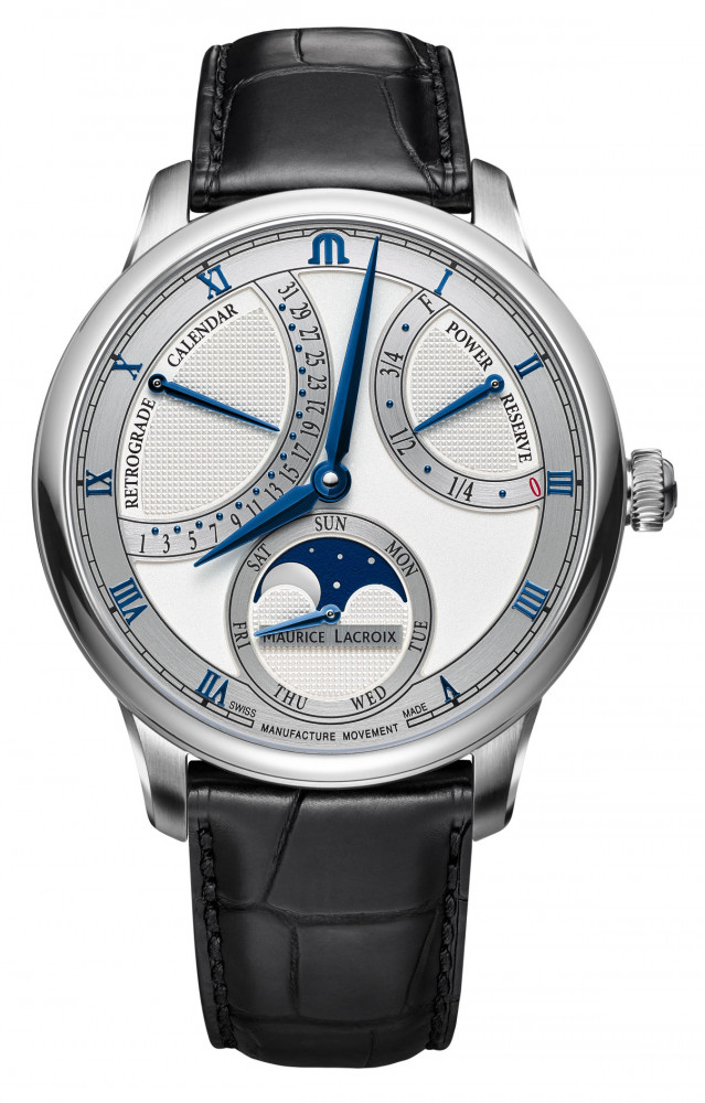 Maurice Lacroix Retrograde Moon Phase