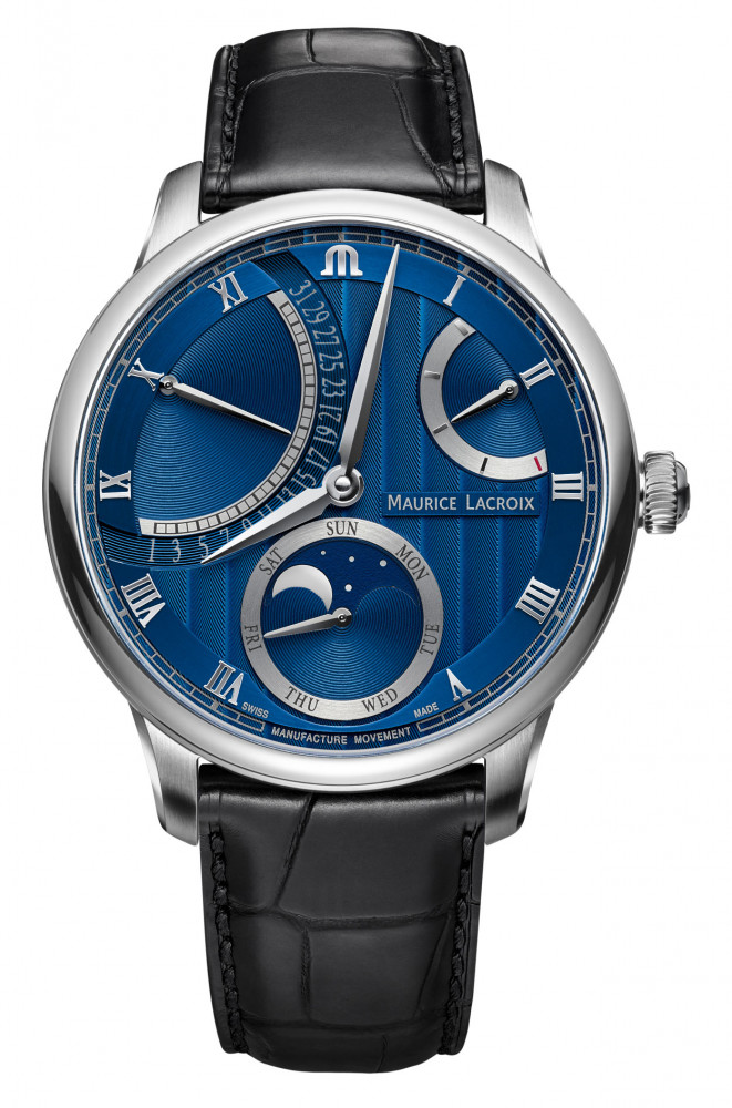 Maurice Lacroix Retrograde Moonphase