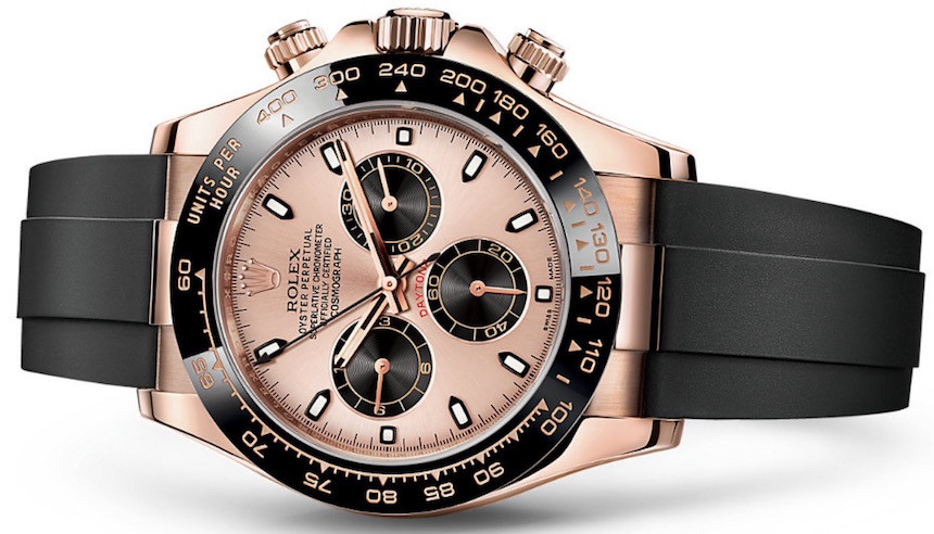 Rolex Cosmograph Daytona red gold with oysterflex