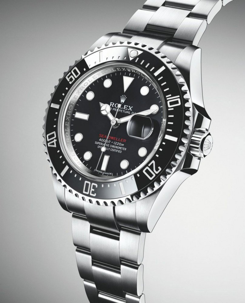 Rolex Oyster Perpetual Sea-Dweller 43mm with a Cyclops's Eye