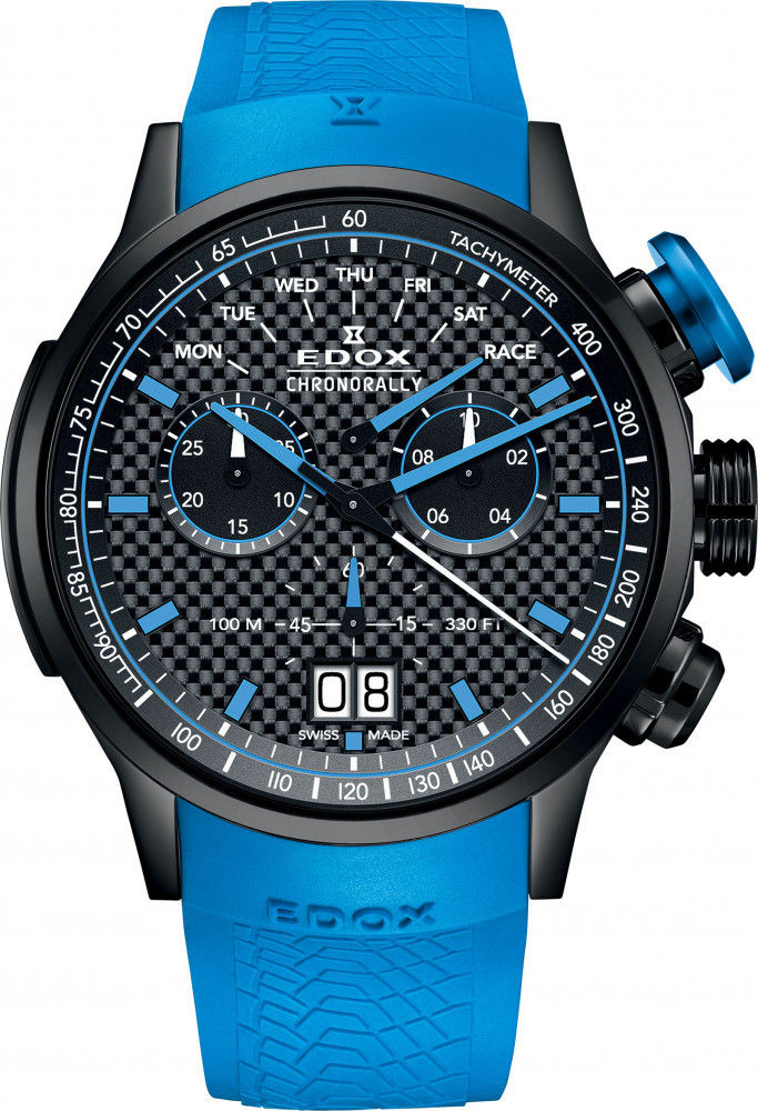 ff0e88702 At BaselWorld watch and jewelry show, the house of Edox introduced a new  limited edition Chronorally timepiece dedicated to the famous Sauber F1  Team.