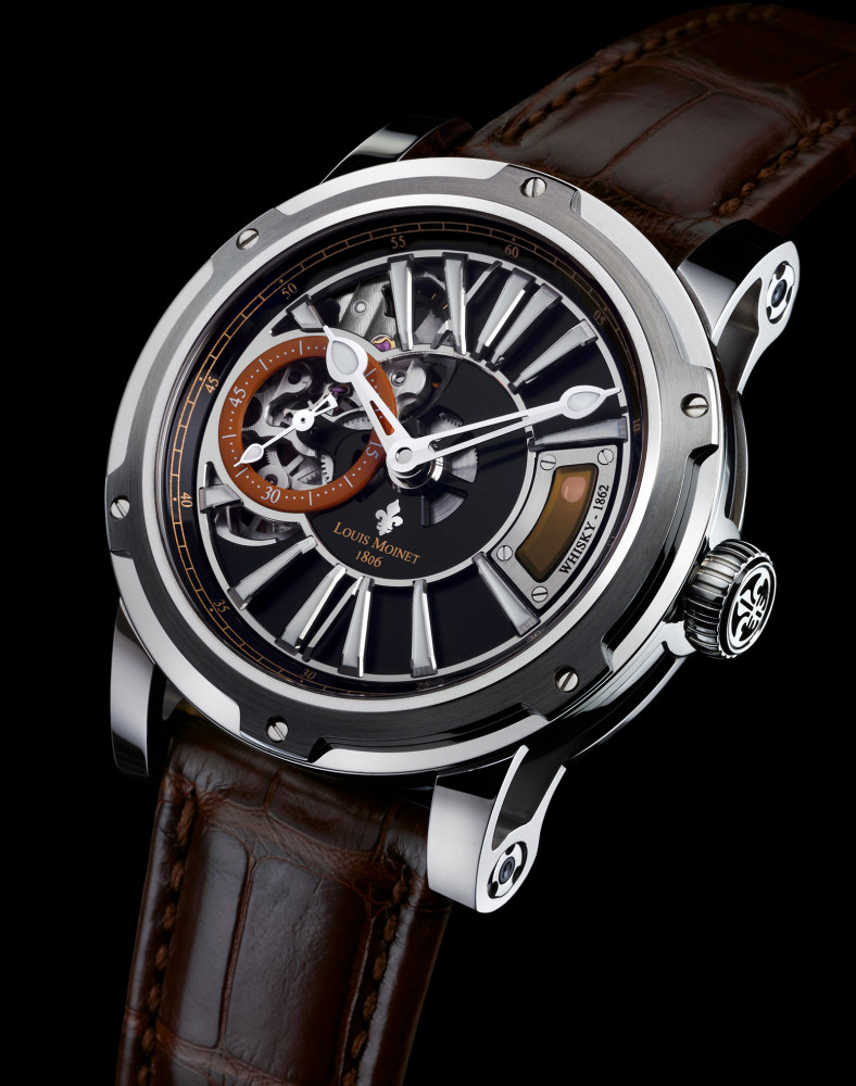 Louis Moinet the Whisky Watch steel