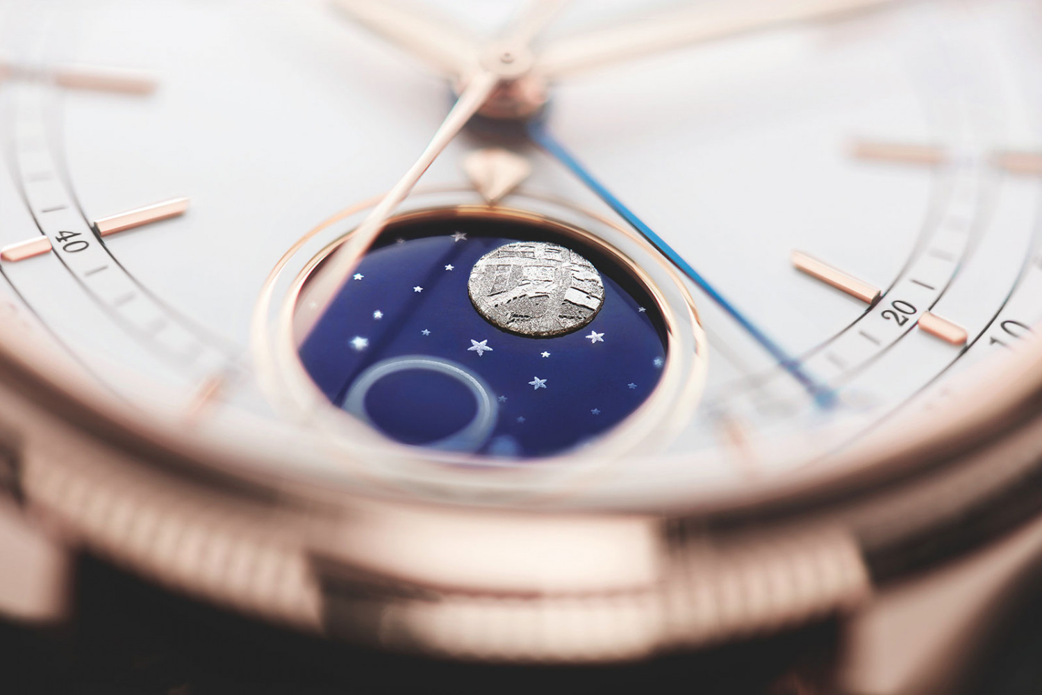 Rolex Cellini Moonphase in Everose gold, reference 50535