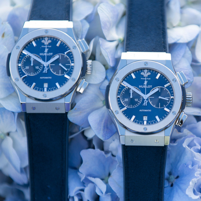 The house of Hublot has partnered with The Prince s Trust to create a  Special Edition charity timepiece the  Classic Fusion Chronograph Prince s  Trust . b6cb91ca42