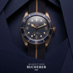 Tudor Heritage Black Bay Bronze Blue Edition for Bucherer
